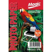 Фотобумага MAGIC 10*15CM 210g  (100sheets)