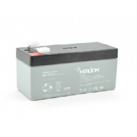Аккумуляторная батарея MERLION AGM GP1213F1 12 V 1,3Ah  ( 97 x 44 x 50 (55) ) Q30