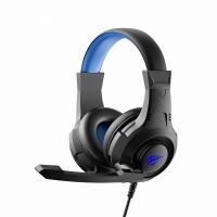 Игровые наушники с микрофоном HAVIT HV-H2031d, black+blue