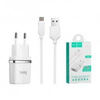 СЗУ HOCO C11 Smart 1USB/1A + Micro USB cable