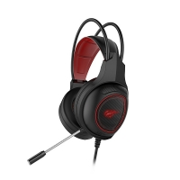Наушники HAVIT  HV-H2239D GAMING, black/red микрофон