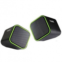 Мультимедийная акустическая система HAVIT HV-SK473 USB black/green