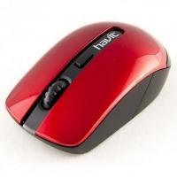 Беспроводная мышь HAVIT  HV-MS989GT  USB, black/red