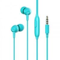 Наушники HAVIT HV-E48P вакуумные с микрофоном, blue(80шт/ящ)