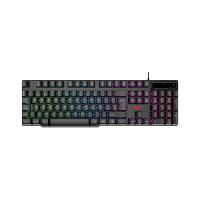 Мембранная игровая клавиатура HAVIT HV-KB504L, wired USB с подсветкой