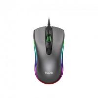 Игровая проводная мышь HAVIT  HV-MS72  USB, black