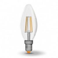 LED лампа VIDEX Filament C37F 4W E14 4100K 220V