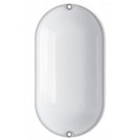 LED светильник (ЖКХ) овальный VIDEX 9W 5000K 220V  белый  (VL-BHO-095PW)