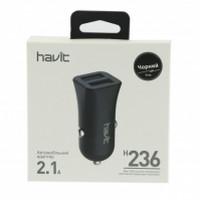 АЗУ HAVIT HV-H236, DUAL USB (5V/2.1A)