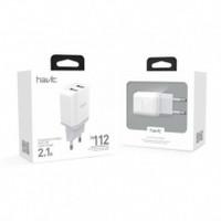 СЗУ HAVIT HV-H112 2 USB 2.1A white