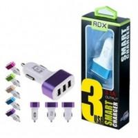 АЗУ REDDAX RDX-141 тройная USB-авто зарядка 3.4A блист