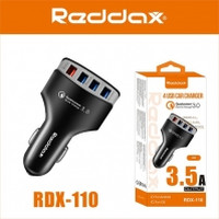 АЗУ REDDAX RDX-110 4 USB технология быстрой зарядки Qualcomm Quick Charge 3.0 3.5A