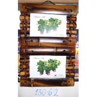 Рамка 10x15 Бамбук двойная 130-6-2