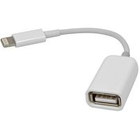 Кабель DEFENDER APL-OTG Apple Lighting(M)—USB(F), 8см, blister