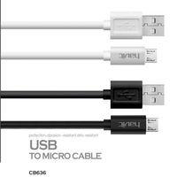 Кабель HAVIT smart phone data cable  HV-CB636, MicroUSB