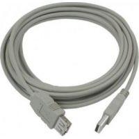 Подовжувач USB 2.0 AM / AF, 1.5m, 1 ферит, чорний Пакет Q250