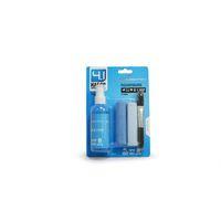 Набор чистящий LF-CL025, 4 в 1, спрей 100ML, микрофибра, кисточка, замшевая салфетка