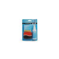 Набор чистящий LF-CL193, 3 в 1, спрей 60ML, многофункциональная двухсторонняя щетка, замшевая салфет
