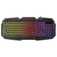 Клавиатура HAVIT HV-KB406L GAMING USB, black с подсветкой