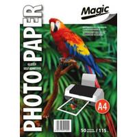 Фотобумага MAGIC A4 Glossy 115g (самоклеющаяся) (50 листов)
