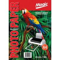 Фотобумага MAGIC A4 Glossy 180g  (20sheets)