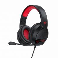 Игровые наушники с микрофоном HAVIT HV-H660d, black/red