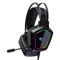 Игровые наушники с микрофоном HAVIT HV-H656d, black