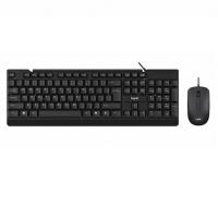 Набор клавиатура+мышка HAVIT HV-KB 272CM, wired USB, black