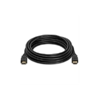 Кабель HDMI-HDMI HIGH SPEED 5.0m, v1.4, OD-7.5mm, круглий Black, коннектор Black, (Пакет) Q80