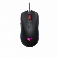 Игровая проводная мыша HAVIT HV-MS1010 USB, black