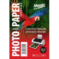 Фотобумага MAGIC 10*15CM 230g  (100sheets)