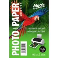 Фотобумага MAGIC 10*15CM CM Inkjet Matte Paper 200g  (100sheets)