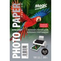 Фотобумага MAGIC 10*15CM 260g Premium суперглянцевая  (100sheets)