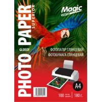 Фотобумага MAGIC A4 Glossy 180g  (100sheets)