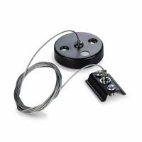 Набор для подвесного монтажа для шинопровода VIDEX VL-TRF-PD-B черный L=1м (25931)