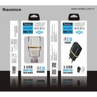 СЗУ REDDAX RDX-013 MICRO (V8) USB CABLE (2100mAh) блист