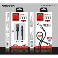 Кабель Reddax RDX-392 тканевой TYPE-C (2,4 MAH)