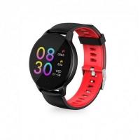 bluetooth smart bracelet HAVIT HV-H1113A, black+rad