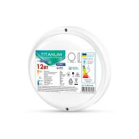 LED светильник IP65 круглый TITANUM 12W 6500K 220V  TL-BHR-126 (26598)