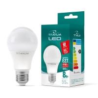 LED лампа TITANUM A60 8W E27 4100K 220V 50шт/ящ (24923)