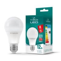 LED лампа TITANUM A60 12W E27 4100K 220V (24163)
