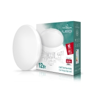 LED светильник настенно-потолочный TITANUM 12W 4100K 220V (TLCL-12HM) Матовый 20шт/ящ