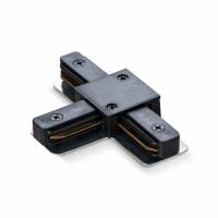 Соединитель для шинопроводов Т-подобный VIDEX VL-TRF-CTT-B черный (25927)