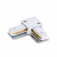 Соединитель для шинопроводов угловой VIDEX VL-TRF-CTL-W белый (25926)