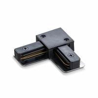 Соединитель для шинопроводов угловой VIDEX VL-TRF-CTL-B черный (25925)