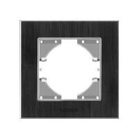VIDEX BINERA Рамка черный алюминий одинарная горизонтальная (VF-BNFRA1H-B) (13/156)