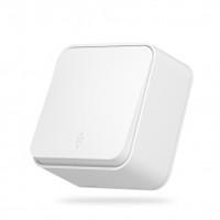 VIDEX BINERA Выключатель наружный 1кл проходной белый (VF-BNS11P-W) (12/120) (25452)