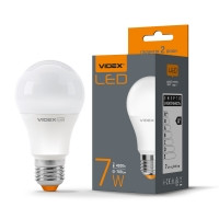 LED лампа VIDEX A60E 7W E27 4100K 220V (VL-A60e-07274) (23488)