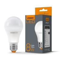 LED лампа VIDEX A60e 8W E27 4100K 220V (VL-A60e-08274) (23806)