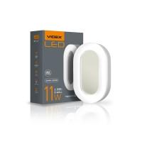 LED светильник ART (ЖКХ) овальный VIDEX 11W 5000K 220V (24шт\ящ) (25245)